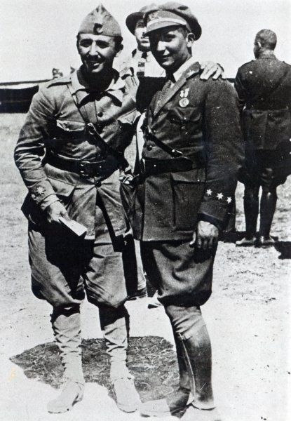 Francisco i Ramón Franco l'any 1925, al Marroc