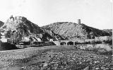 Restes del castell de Castellfollit de Riubregós