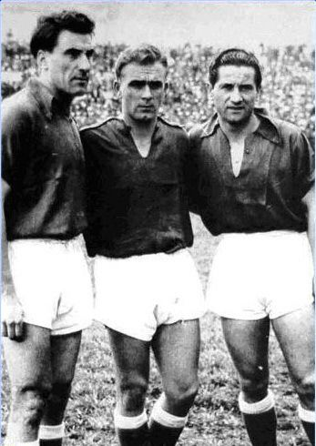 Rossi, Di Stéfano i Pedernera en el Millonarios de Colòmbia