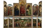 'L'adoració de l'Anyell Místic', dels germans van Eyck