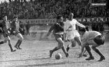 Di Stéfano en una gira del Reial Madrid per Sud-amèrica, el 21 d'agost del 1958