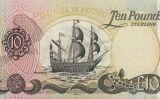 Bitllet d'Irlanda del Nord de 10 Lliures on apareix una nau de l'Armada Invencible, la 'Girona'