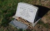 La tomba d'un dels germans d'Earp, Morgan Wyatt, al cementiri de Colton