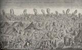 Els efectes del terratrèmol i els incendis de 1755 a Lisboa, de Georges Clerc-Rampal