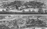 L'abans i el després dels desastres que van destruir la capital portuguesa el 1755