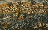 El tsunami de Lisboa, posterior al terratrèmol de l'1 de novembre del 1755