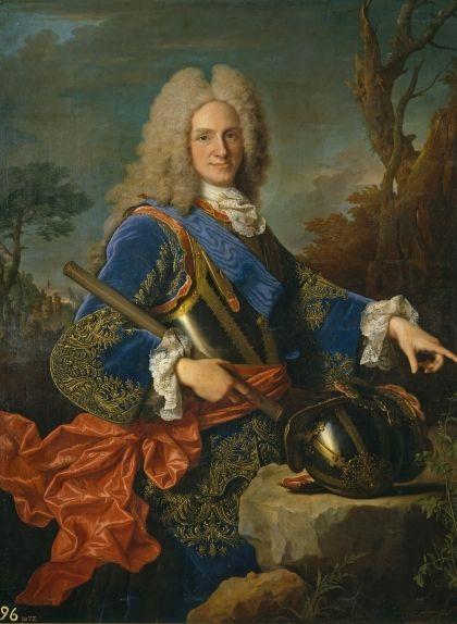 Retrat oficial de Felip V d'Espanya (1723), obra del francès Jean Ranc conservada al Museu del Prado