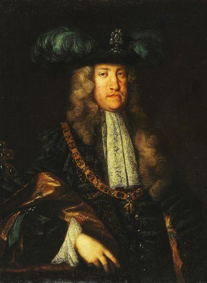 Retrat de Carles d'Àustria, obra del suec Martin van Meytens