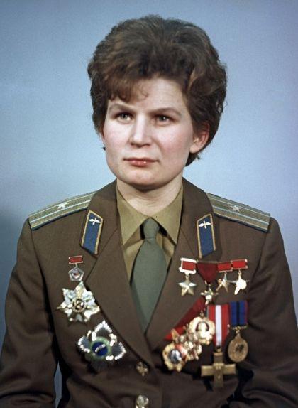 Valentina Tereixkova, la primera dona que va viatjar a l'espai exterior