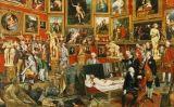 'La tribuna dels Uffizi', de Johann Zoffany