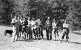 Un grup de maquisards a l'Alta Savoia, l'agost de 1944