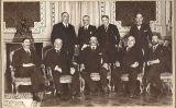 Fotografia del 1918 del govern de Romanones (assegut al centre)