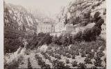 Fotografia de Jenny Bergensten del monestir de Montserrat (1895)