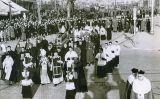 Trasllat de les suposades despulles del bisbe Irurita del cementiri de Montcada fins a la catedral de Barcelona (1943)