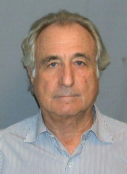 Fotografia policial de Bernard Madoff