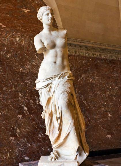 La Venus de Milo al Museu del Louvre