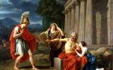 'Èdip a Colon', quadre de Jean-Antoine-Théodore Giroust