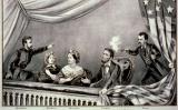 Gravat del president Lincoln sent assassinat (1865)