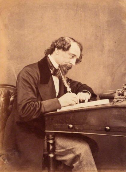 Retrat de Charles Dickens del 1858