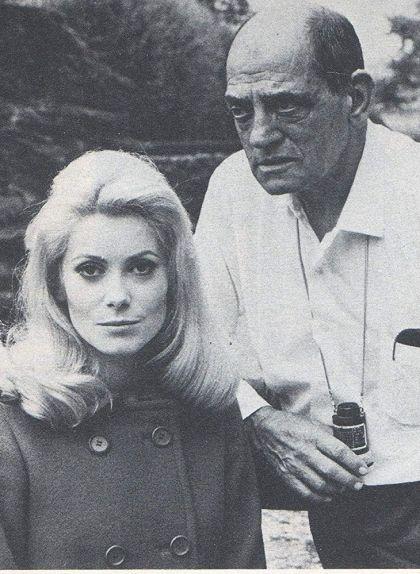 Luis Buñuel i Catherine Deneuve