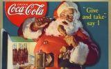 Imatge de la campanya de Coca-Cola amb Santa Claus