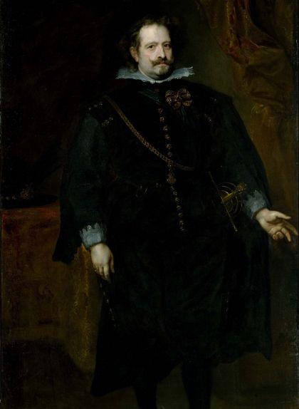 Diego Felipe de Guzmán. Retrat d'Anton van Dyck