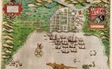 Gravat de la flota de Francis Drake a Santo Domingo