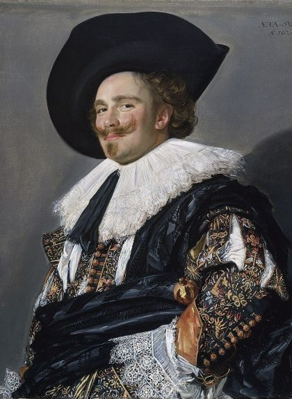 'Cavaller somrient', de Frans Hals (1624)