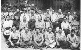 Japonesos reclosos al camp de Lordsburg, a Nou Mèxic