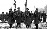 Membres nipoamericans del 442 Regiment de Combat a França l'any 1944