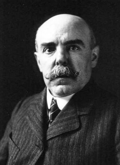 Emmanuel Brousse en una imatge del 1914