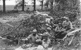 Voluntaris catalans al front de l'Oise, al nord de París, durant la Primera Guerra Mundial