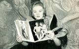 L'actriu Madeleine Carroll en una imatge publicada en una revista italiana el 1935