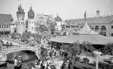 El parc d'atraccions de Coney Island, a Nova York, a la primeria del segle XX