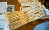 Partitura original d'una obra estrenada al Palau de la Música