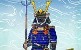 Un samurai llest per al combat