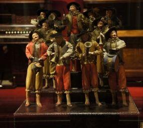 Orquestra d'autòmats, una peça que podeu veure al Museu de la Música de Barcelona