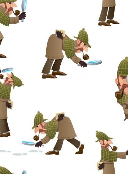 Dibuixos de Sherlock Holmes