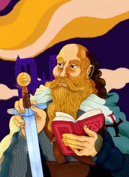 El gran mestre templer Jacques de Molay