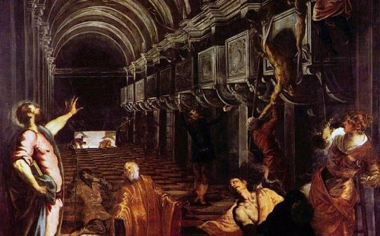 800px Jacopo Tintoretto   Finding of the body of St Mark   Yorck Project