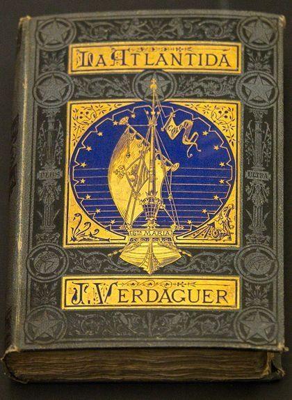 'L'Atlàntida', de Jacint Verdaguer. Edició de Jaume Jepús (Barcelona, 1878) conservada al Museu Diocesà de Barcelona