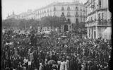 Enterrament de Jacint Verdaguer a Barcelona, el 1902