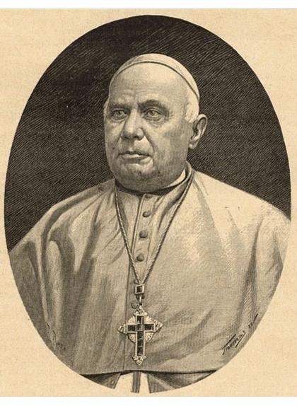 El bisbe de Vic Josep Morgades