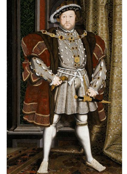 Retrat d'Enric VIII, de Hans Holbein el Jove
