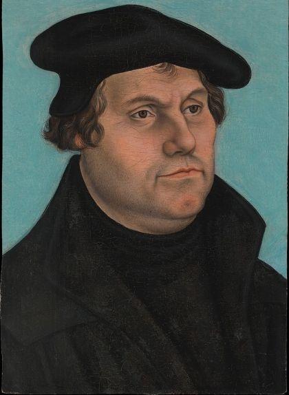 Retrat de Martí Luter de Lucas Cranach el Gran