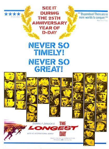 Cartell de la pel·lícula 'The Longest Day' (El dia més llarg)