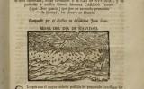 Pàgina de l'opuscle 'Juizio sobre el celeste señal' en què l'astròleg Joan Solar parla del meteorit caigut el 1704
