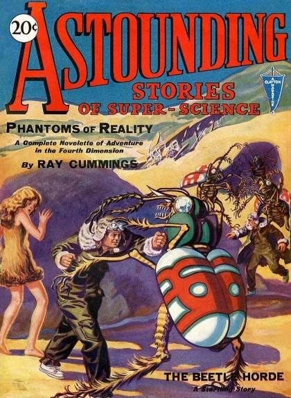 Portada de la revista 'Astounding' de gener de 1930
