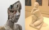 'En desconstrucció', de Tania Font, i 'La deessa', de Josep Clarà