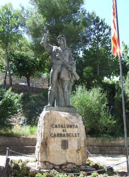 Monument a Carrasclet a Capçanes